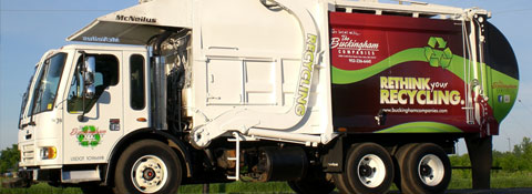 Buckingham Recycling Truck